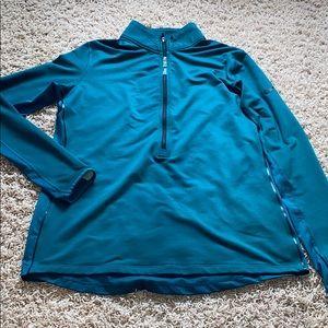 Nike Pro half zip pullover